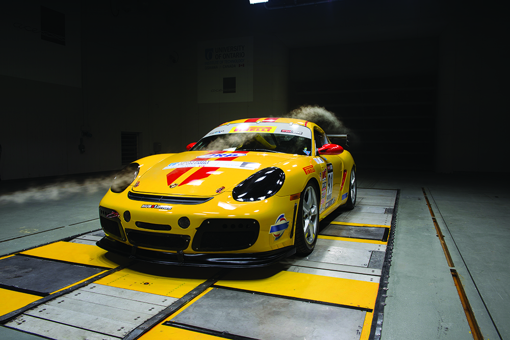 Aerodynamic Testing in Wind Tunnel