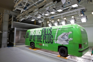 Electric Bus Research in Climatic Wind Tunnel