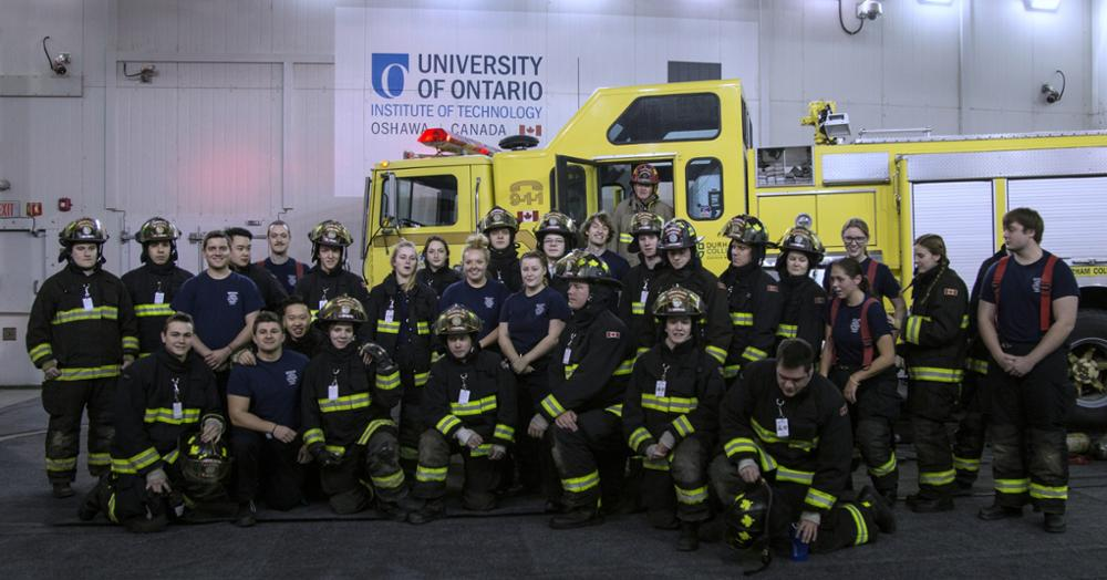 Firefighter Environmental Stress Workshop Group Photo