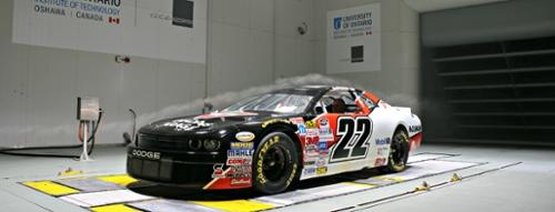 NASCAR in Wind Tunnel