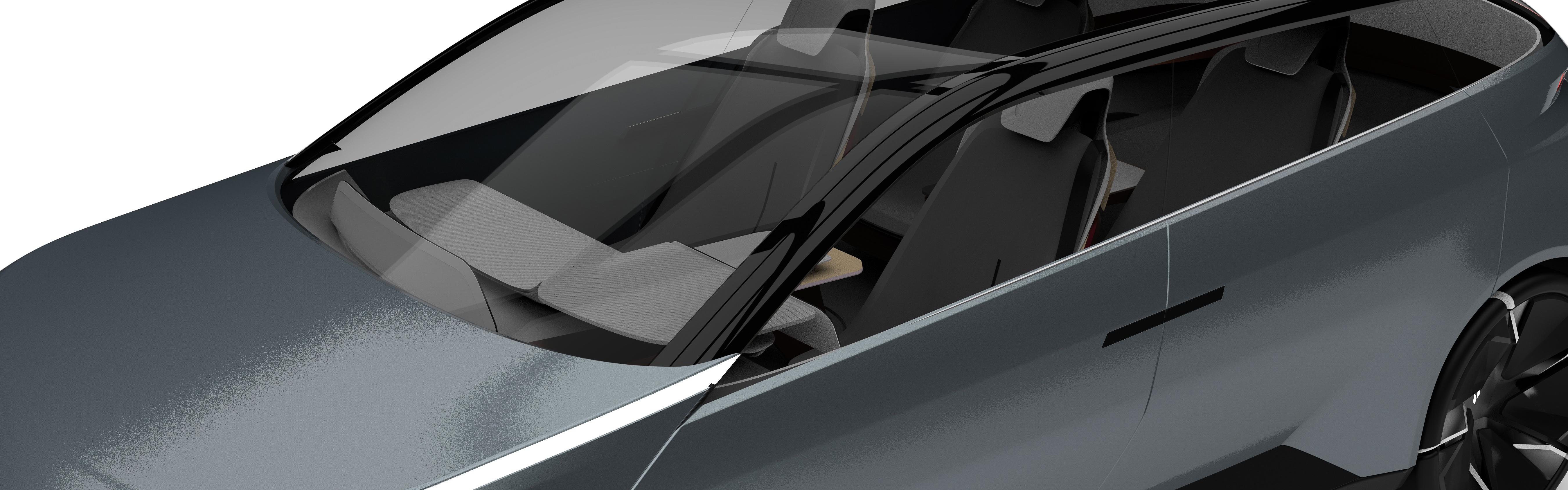 Concept Vehicle Angle 2 - Closeup