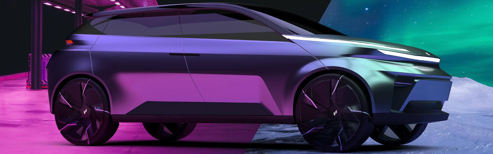 Concept Vehicle - Angle 3