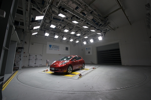Nissan testing in CWT reverse
