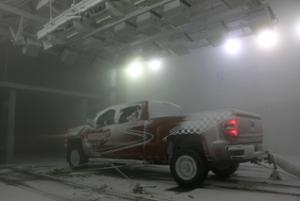 Truck in Snow Test