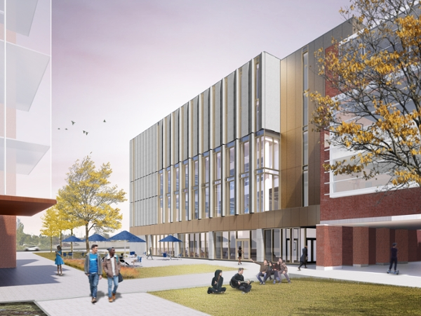 University Centre rendering