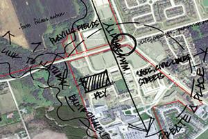Campus master plan map