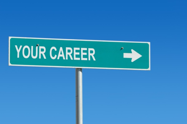 "Signs that say ""Your career"""
