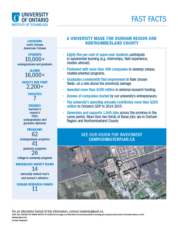 EcDev UOIT Factsheet