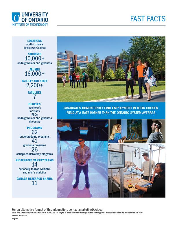 Programs UOIT Factsheet