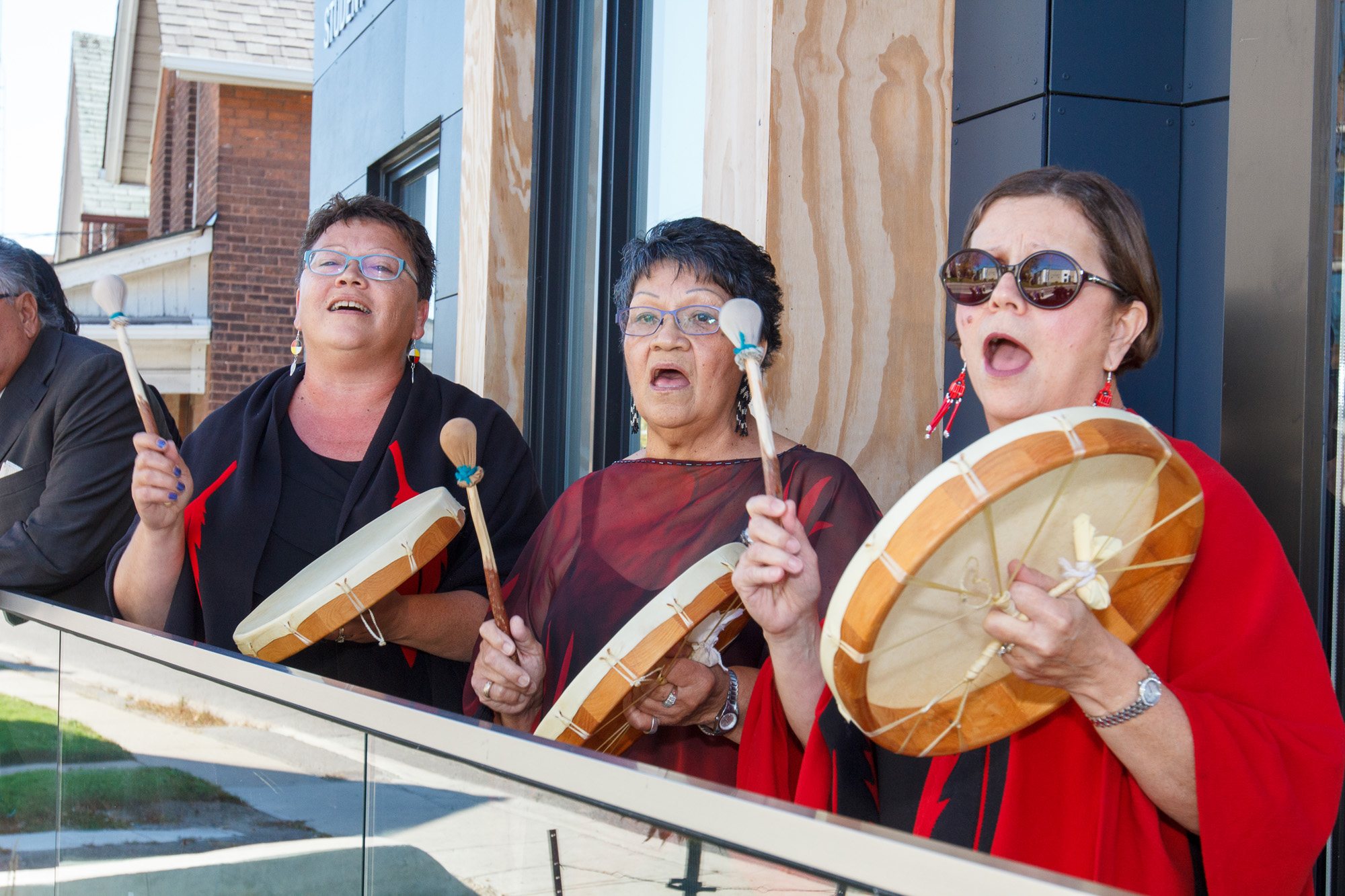 Bagwaating Indigenous Student Centre opening ${altNumber}