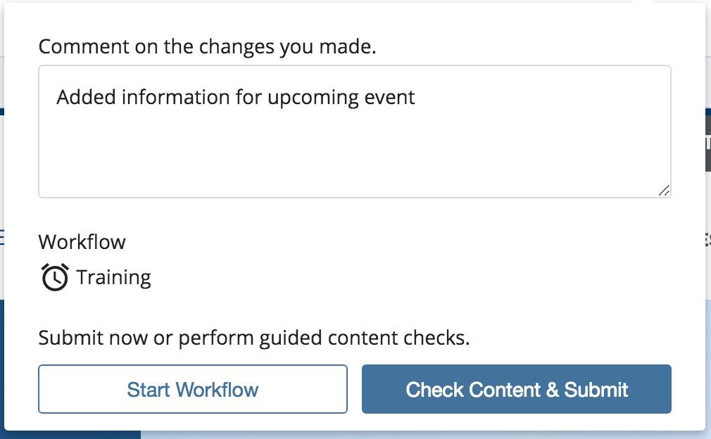 Submit edits to workflow screenshot