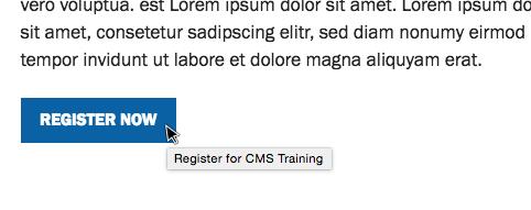 Screenshot: button link with descriptive title text