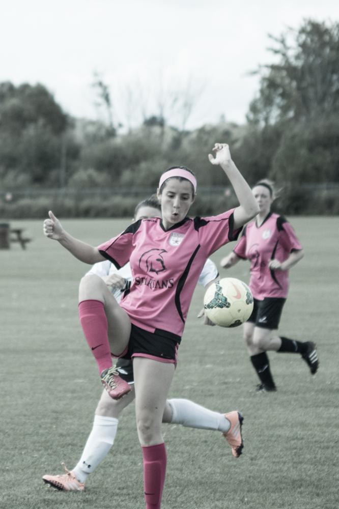 K Navarro Soccer action