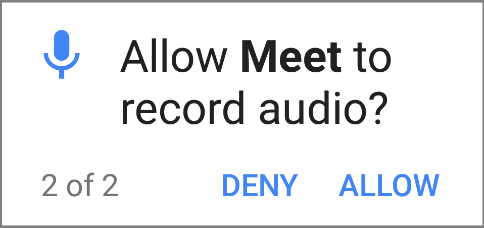Allow Audio