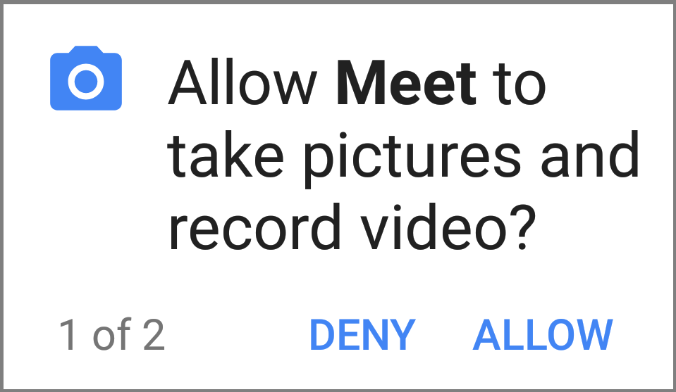 Allow video