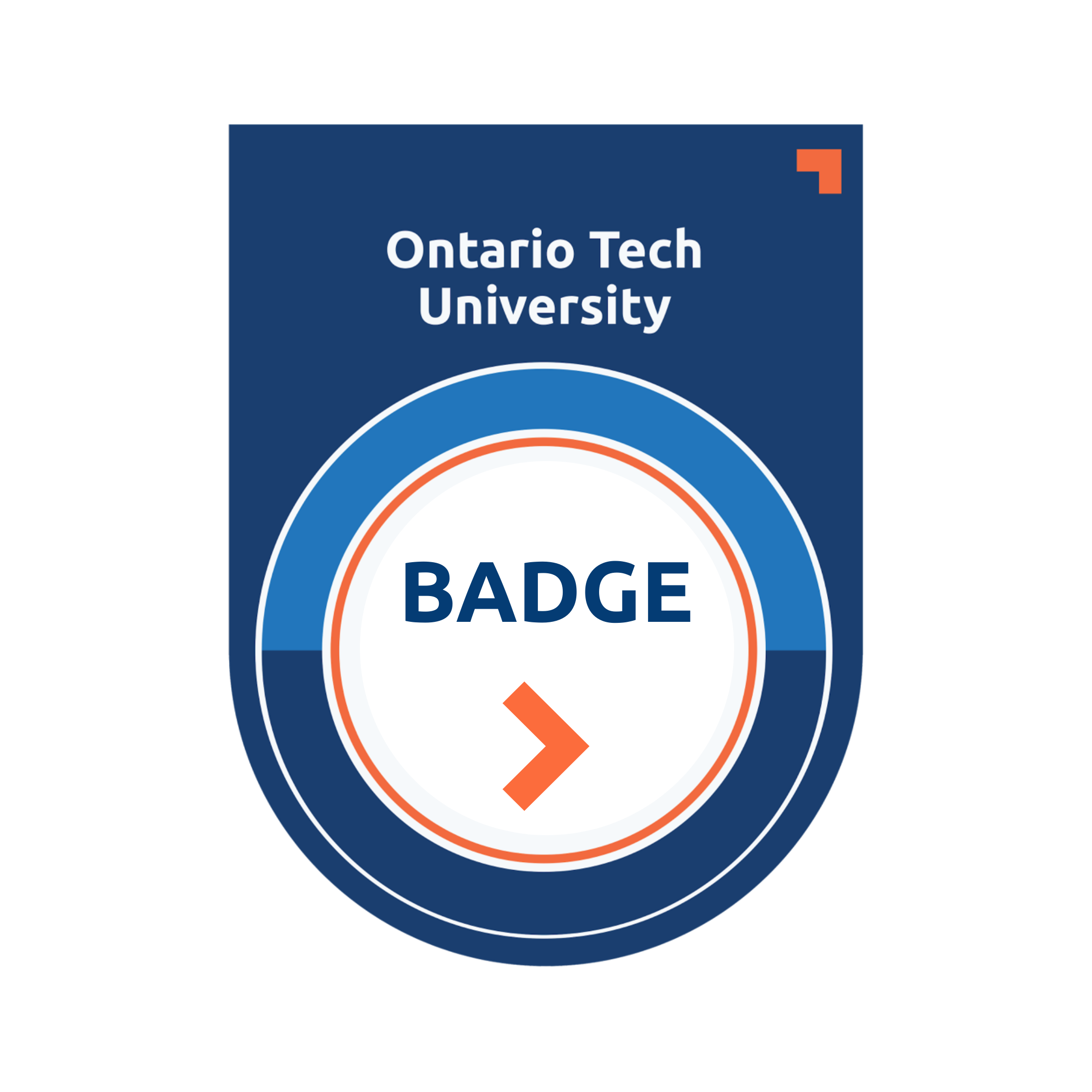 An Ontario Tech University Digital Badge