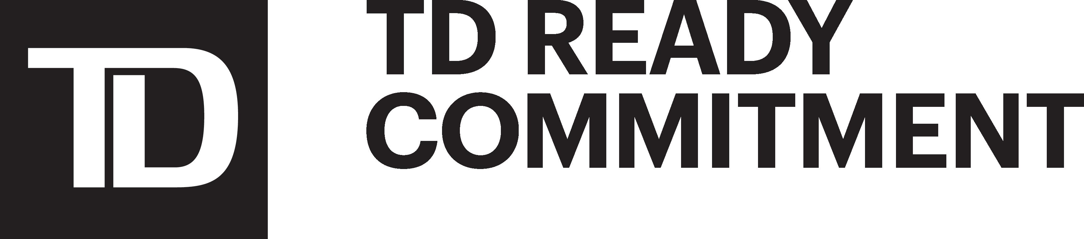TD logo: TD Ready Committment