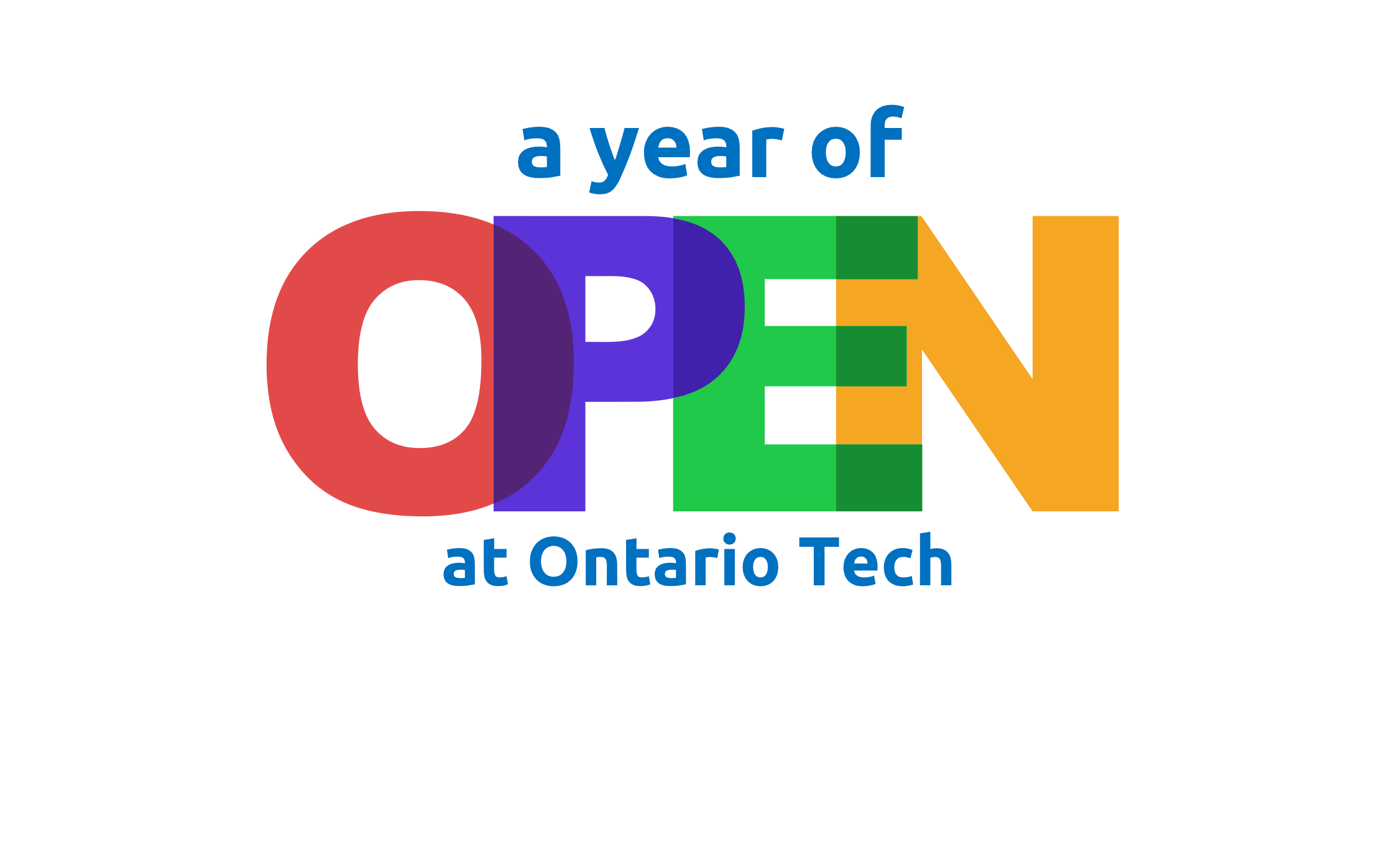 A Year of Open at Ontario Tech.