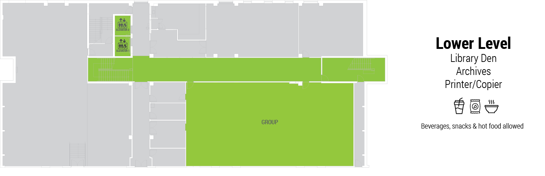 library basement floor plan