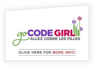 Info button for GoCODEGirl
