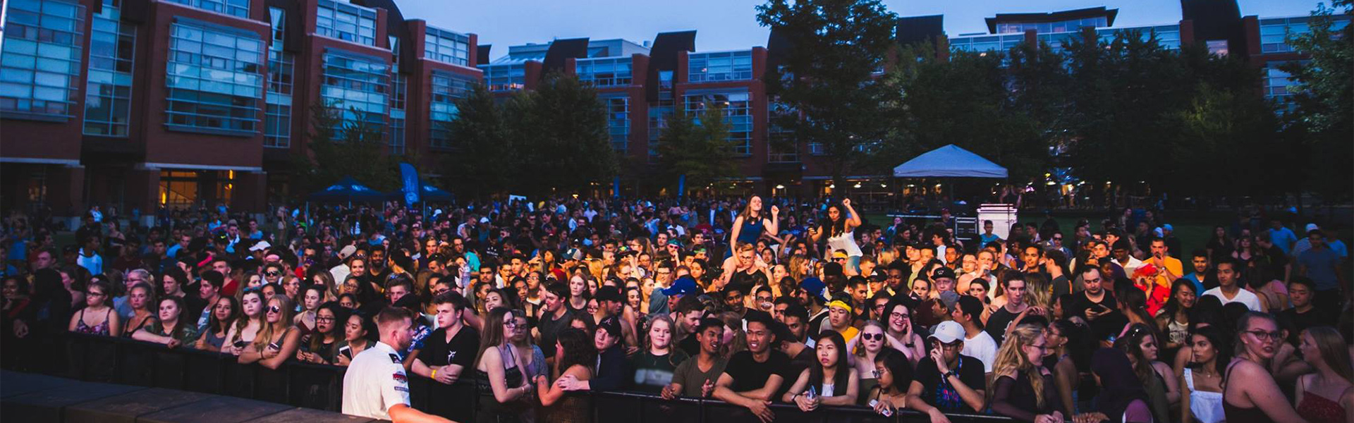 Concert on campus