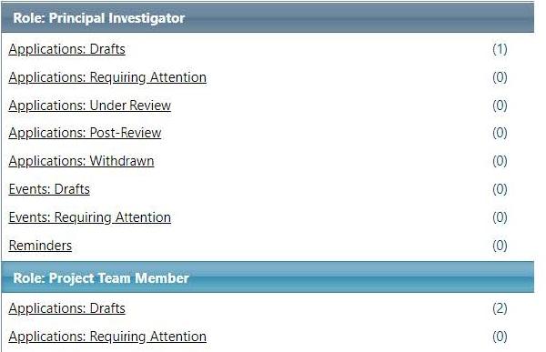 Investigator IRIS homepage