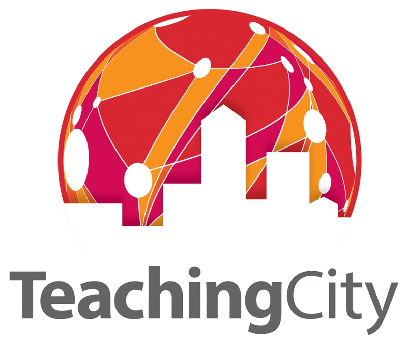 teaching city logo