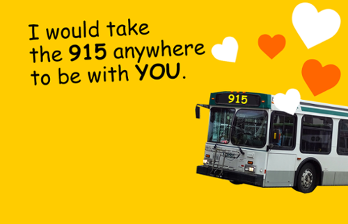 I would take the 915 anywhere to be with you.
