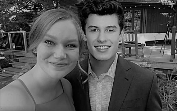 Photoshopped image of Shawn Mendes