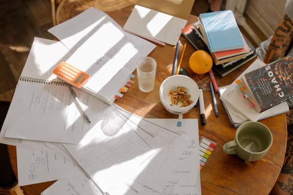 desk pic