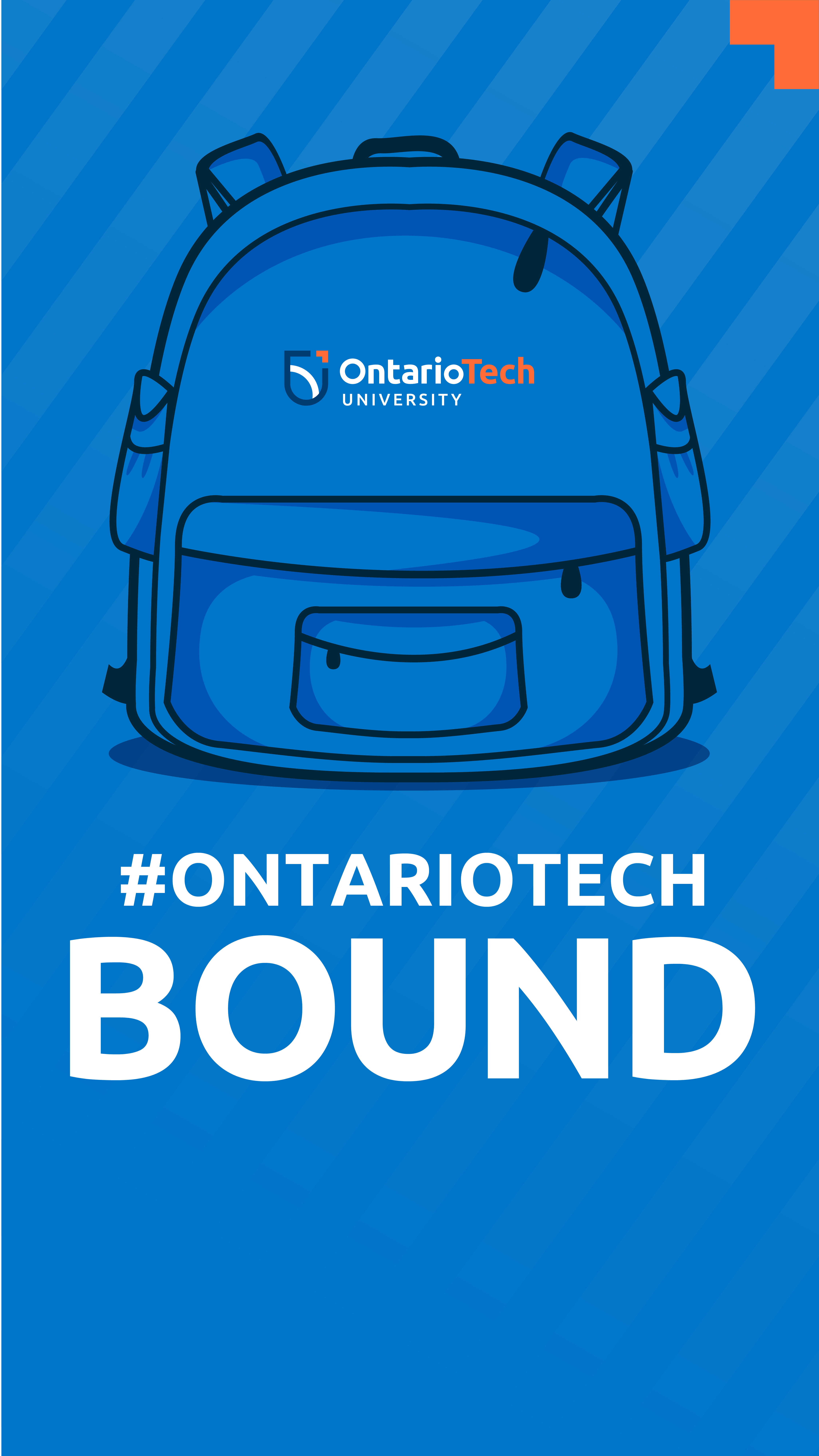 Ontario Tech Bound phone wallpaper