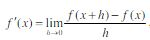 derivatives equation
