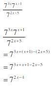 law of exponents example