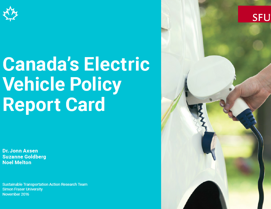 Province-by-province EV Policy Report Card finds insufficient support for electric cars