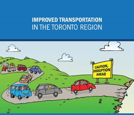 Cover page of UOIT Improved Transportation Report 2018