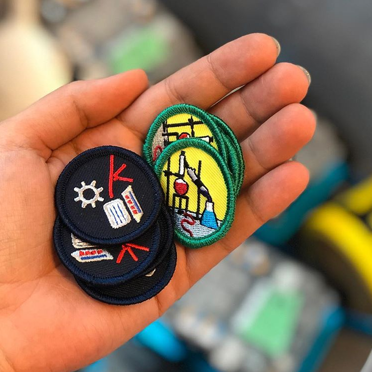 Girl Guide Patches
