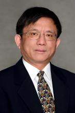 A portrait of Professor Yuping He