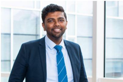 Theeben Jegatheesan, Manager, Academic Advising - First Year Focus