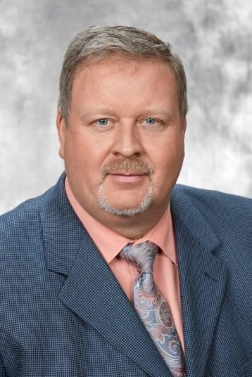 A portrait of Professor Ed Waller