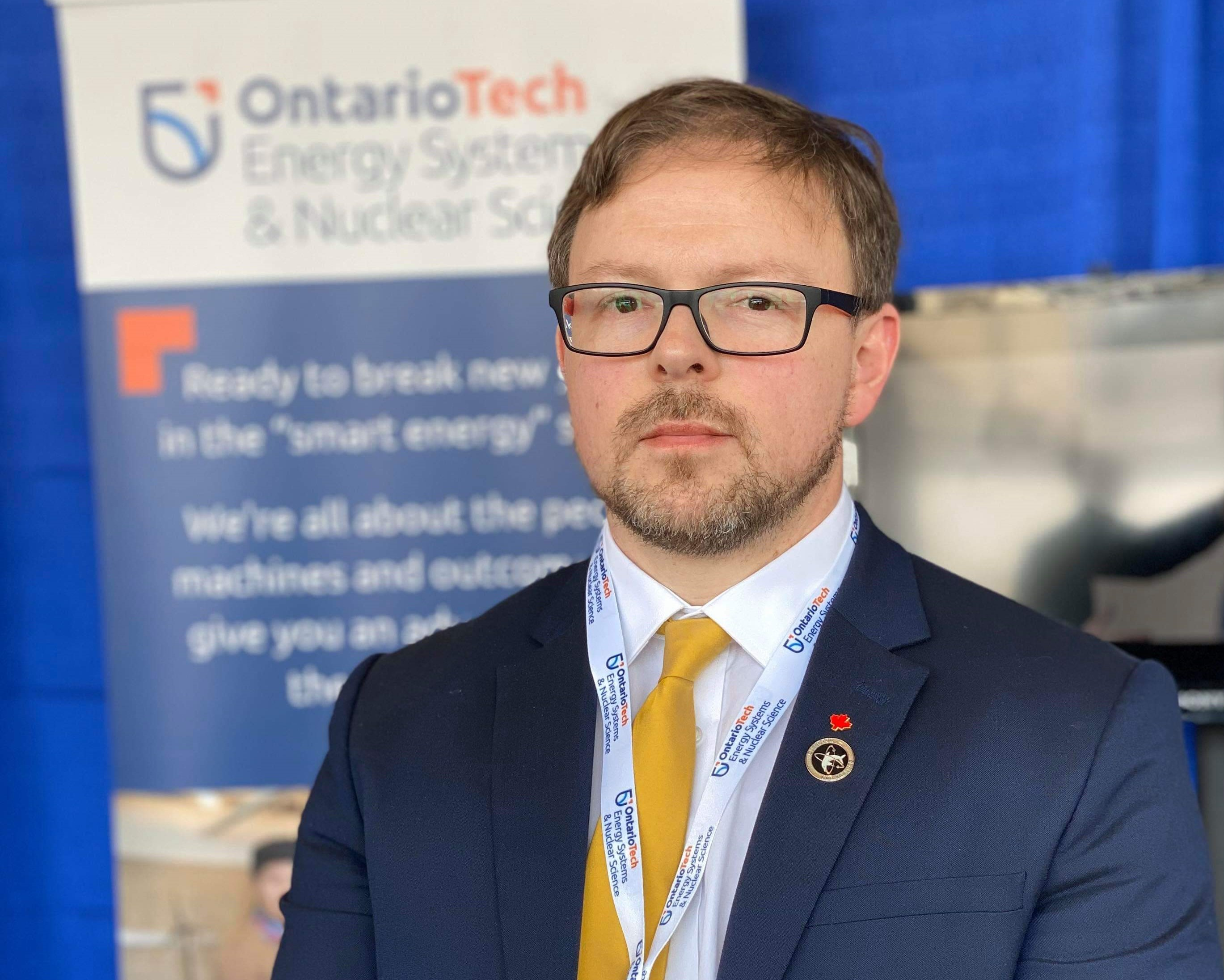 Dr. Kirk Atkinson, Director of the Centre for Small Modular Reactors, Associate Professor and Industrial Research Chair in Faculty of Energy Systems and Nuclear Science at Ontario Tech University.