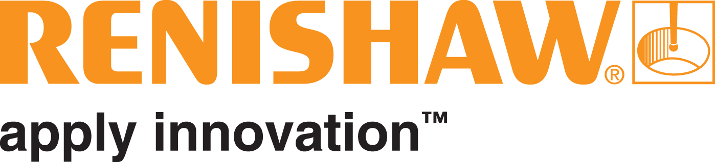 Gold Renishaw logo