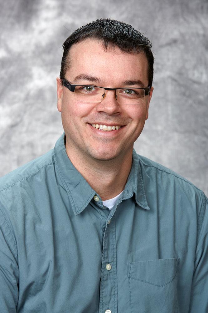A portrait of Professor Brad Easton