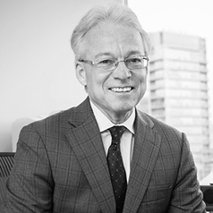 Black and White portrait of Information and Privacy Commissioner Brian Beamish