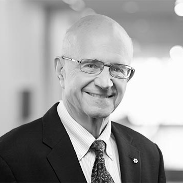 Frank Iacobucci, retired Supreme Court justice.