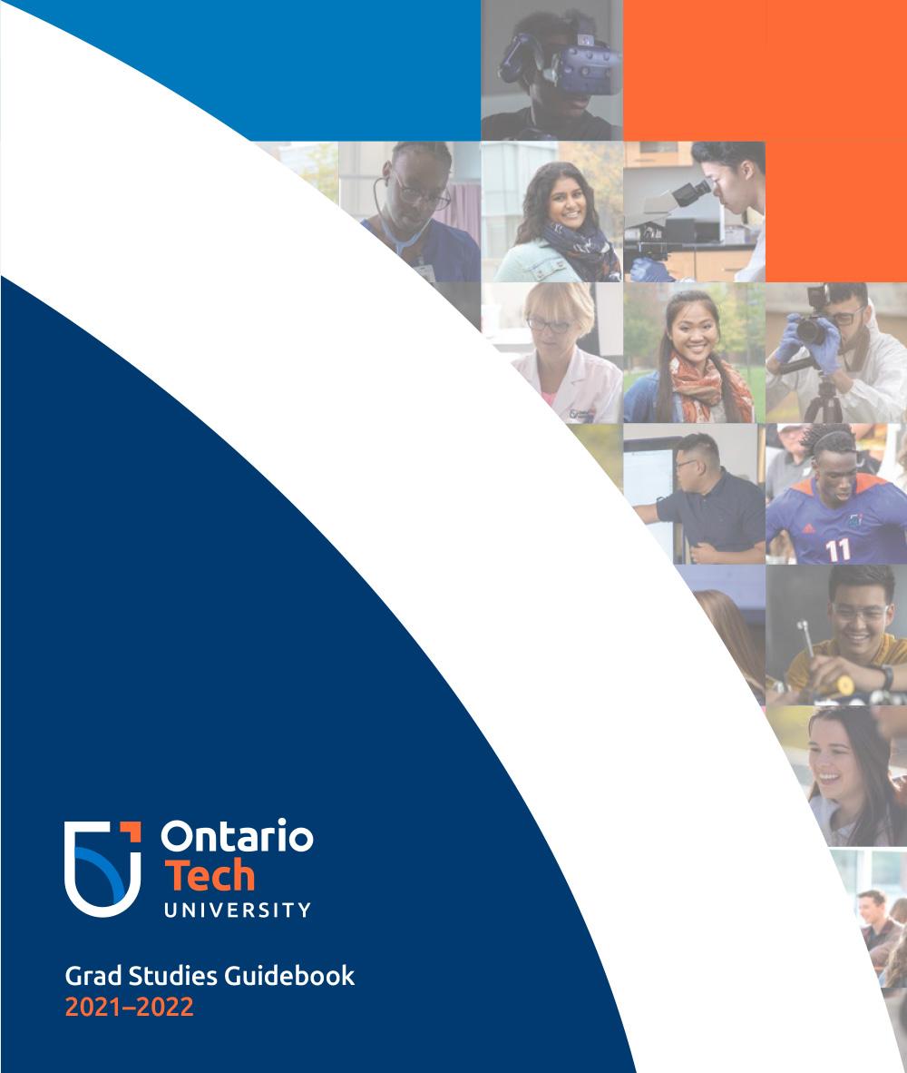 Cover of Graduate Studies viewbook