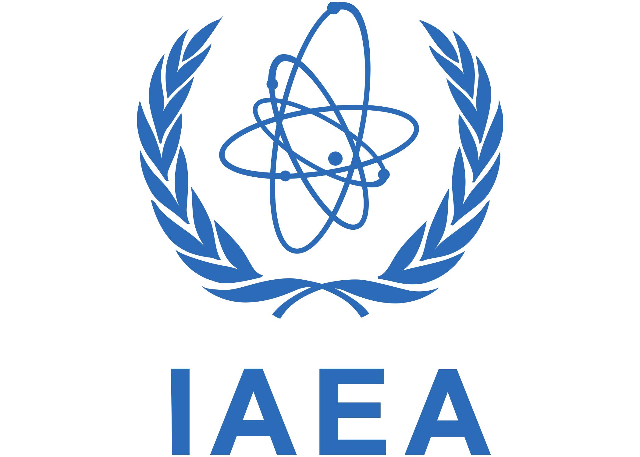 Logo for the International Atomic Energy Agency