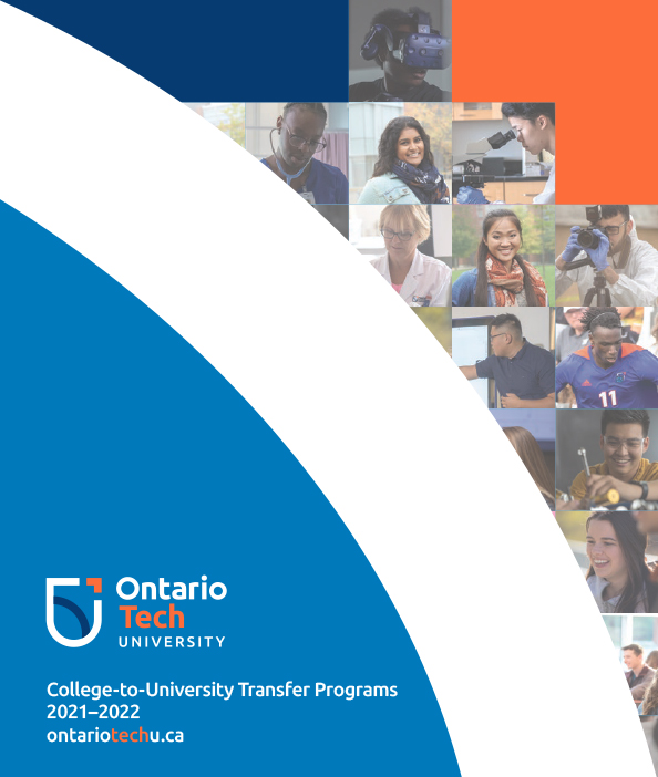 College-to-university transfer viewbook