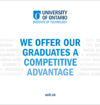 The cover of the brochure for Preparing Grads for Tomorrows Workplace (Cover page says: We Offer Our Graduates A Competitive Advantage)